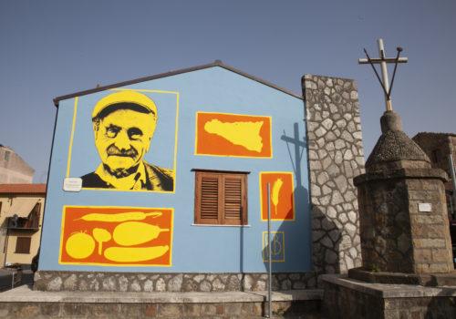 Un'opera di street arti per Castelbuono